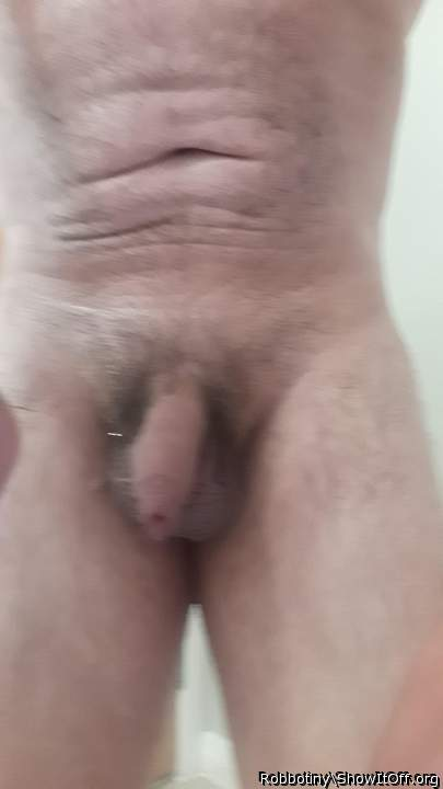 Tiny dick shower time